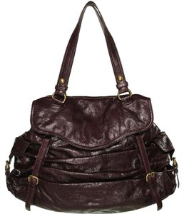 Kooba Satchel in Deep purple