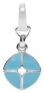 Fossil Fossil Signature Enamel Charm - Teal