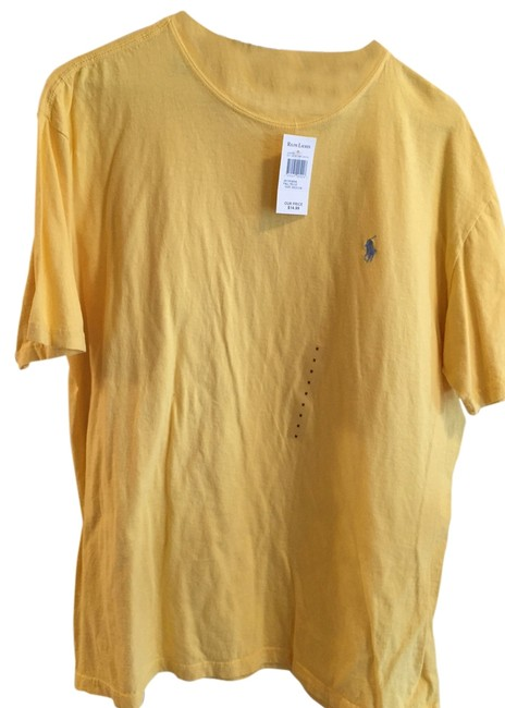 Preload https://item3.tradesy.com/images/polo-ralph-lauren-bright-yellow-tee-shirt-size-10-m-1645777-0-0.jpg?width=400&height=650