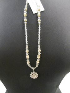 Giavan Swarovski Crystal HOL238N (n-1)- Clear Crystal Necklace