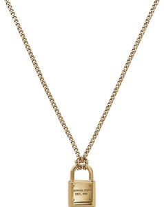 Michael Kors Nwt Michael Kors gold padlock necklace mkj3489710