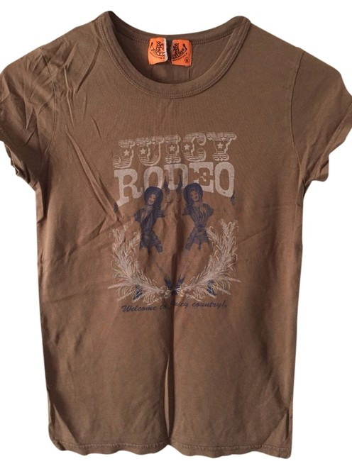 Juicy Couture T Shirt Brown, Blue