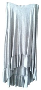 New York & Company Maxi Skirt Gray