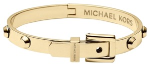 Michael Kors NWT MICHAEL KORS GOLD ASTOR STUD BUCKLE BANGLE BRACELET MKJ1819710