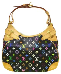 Louis Vuitton Lv Greta Canvas Hobo Bag