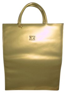 Escada Tote in sunshine yellow