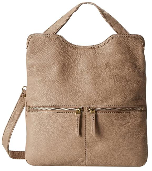 Item - Zb5462271 Taupe Leather Tote