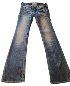 Big Star Boot Cut Jeans-Light Wash