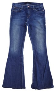 JOE'S Jeans Provocateur Elizabeth Wash 1970s Joes Petite Flare Leg Jeans-Medium Wash