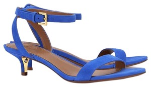 Tory Burch Jelly Blue Sandals