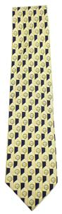 Gianfranco Ferre 100% Pure Silk Lion Patterned Tie GFTTY02