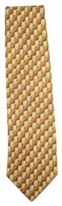 Ermenegildo Zegna 100% Pure Silk Patterned Tie EZTTY08