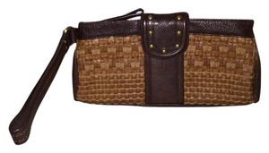 Kenneth Cole Brown Clutch