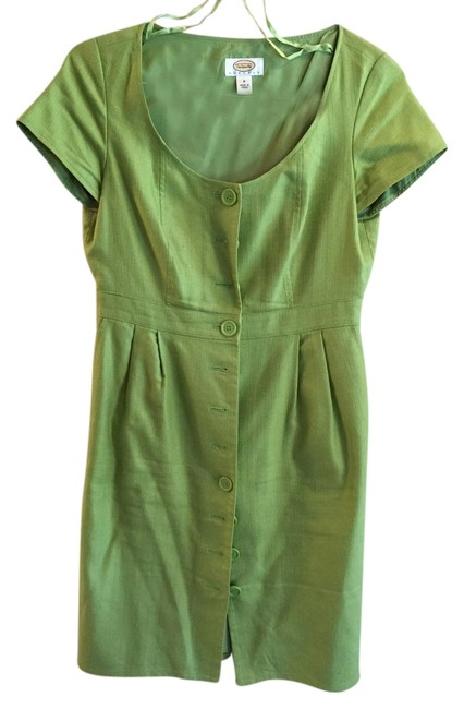 Preload https://item1.tradesy.com/images/talbots-celery-green-above-knee-workoffice-dress-size-8-m-1646275-0-0.jpg?width=400&height=650