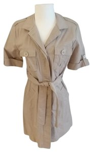 Michael Kors short dress Khaki beige Khaki on Tradesy