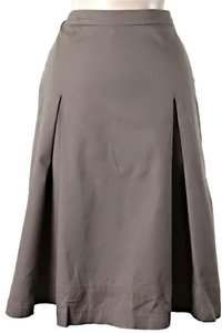 Les Copains Pleated A-line Skirt