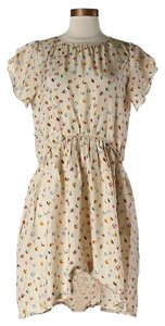 Band of Outsiders short dress Silk Floral Print Hi Lo on Tradesy