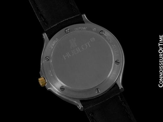 Hublot Hublot MDM Two-Tone Midsize Mens Watch - Stainless Steel & 18K Gold