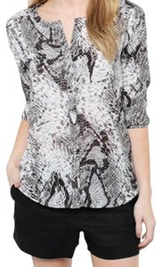 BB Dakota Bb Snake Print Top Black/Grey