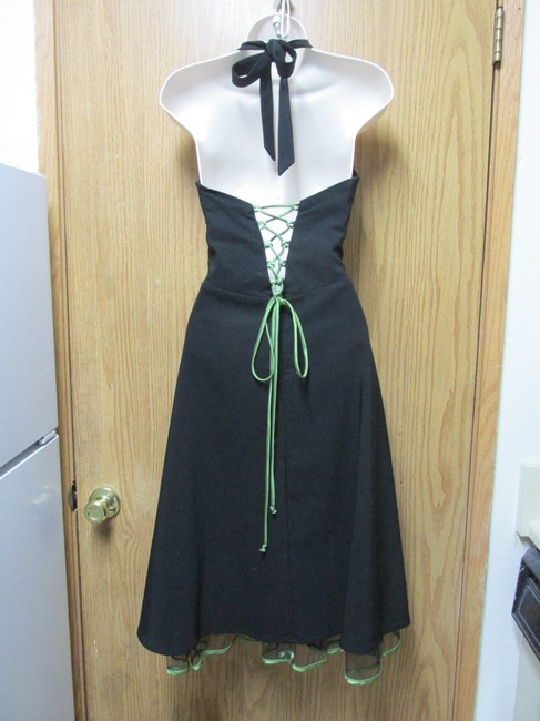 Other short dress Black - Green Nice Backless Soft Comfortable on Tradesy