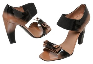 Prada Brown/Black Sandals