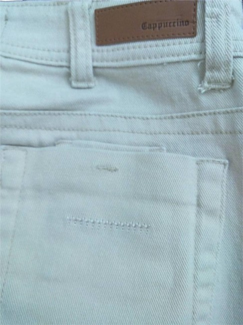 Cappuccino Stretchy Size 5 Khaki/Chino Pants Beige
