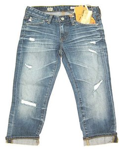 AG Adriano Goldschmied Maiden Skinny Crops Years Aged Capri/Cropped Denim
