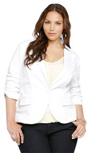 Torrid Brand New New W/ Tags Twill 2x 18/20 White Blazer