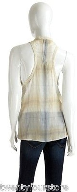 Elizabeth and James Tokyo Sleeveless In Forget Me Not Top Ivory