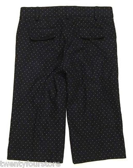French Connection Fcuk Wool Trouser Crop In Capri/Cropped Pants Blue