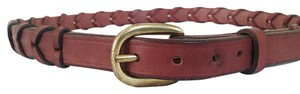 Tory Leather Tory Leather English britle leather laced Belt