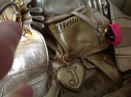 Juicy Couture Exquisite Detail Hardware Light gold Travel Bag