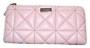 Kate Spade New KATE SPADE Nisha Quilted Leather Wallet ~ Cipria Pink