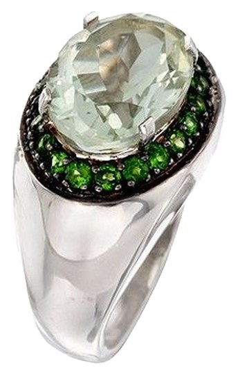 Preload https://item1.tradesy.com/images/green-amethyst-530-carat-and-90-ct-tw-chrome-diopside-ring-in-sterling-silver-1646495-0-0.jpg?width=440&height=440