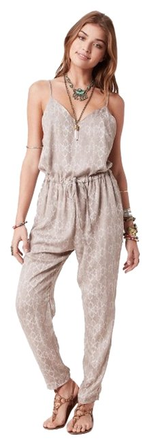 Free People Romper In Stone Romper Stone Color Medium Relaxed Pants