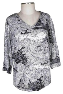Laura Ashley Paisley Lace Sweater