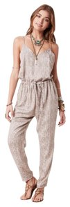 Free People Sunset Romper Stone Color Relaxed Pants