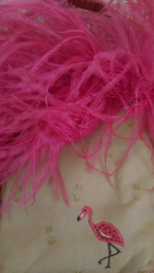Feathers One Of A Kind Vintage Reversible Baguette