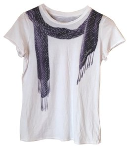 A|X Armani Exchange T Shirt White and Purple