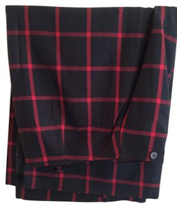 Cato Skirt Black and red plaid