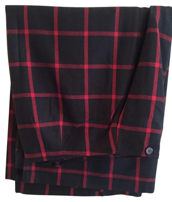 Preload https://item2.tradesy.com/images/cato-black-and-red-plaid-knee-length-skirt-size-16-xl-plus-0x-1646626-0-0.jpg?width=400&height=650