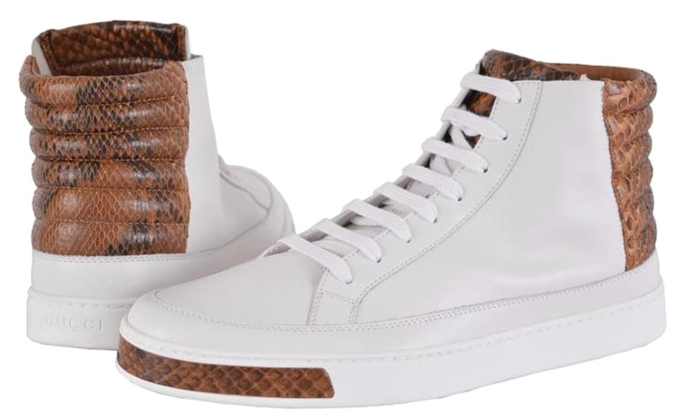 8bdbeab1106 Gucci Men s Sneakers High Tops Men s Sneakers High Tops White Athletic  Image 0 ...