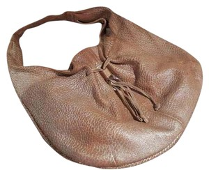 Stuart Weitzman Pebbled Leather Hobo Bag