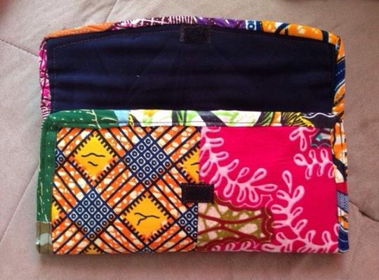 Handmade Multi Colored Patchwork Clutch