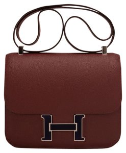 Hermès Constance Rouge H 24cm Shoulder Bag