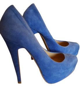 ALDO Pump Suede Blue Pumps