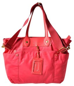 Marc Jacobs Travel Large Weekend DEEP PINK (NOT RED) WEEKEND/DIAPER/TRAVEL Diaper Bag