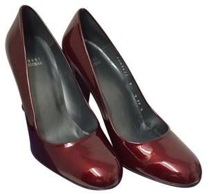 Stuart Weitzman Ruby Red Pumps