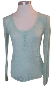 Free People Top Mint