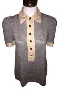 Marc by Marc Jacobs Polo Button Down Shirt Grey